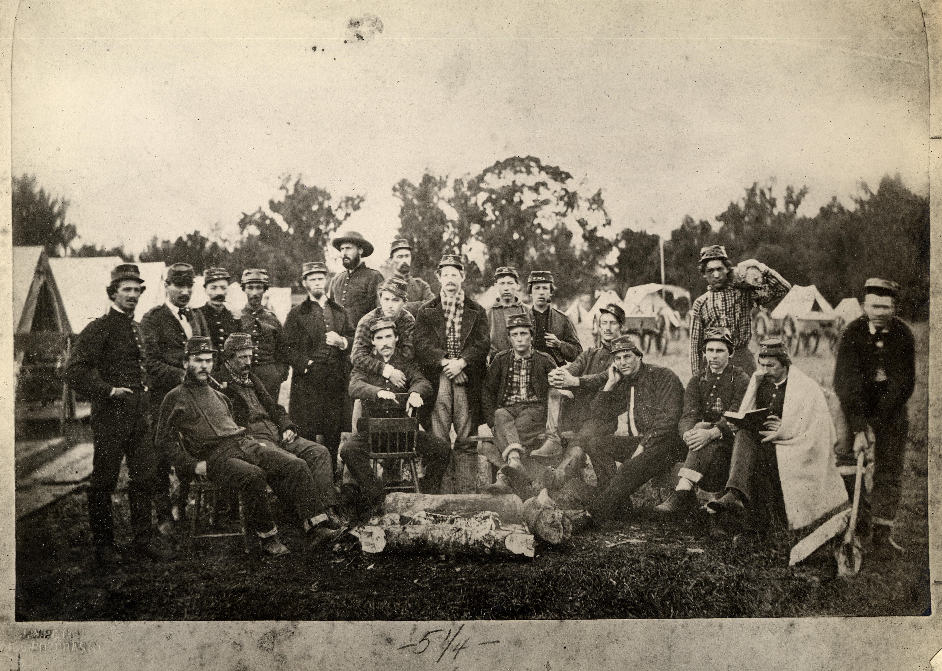 Battalion Washington Artillery Roster of known Images during the